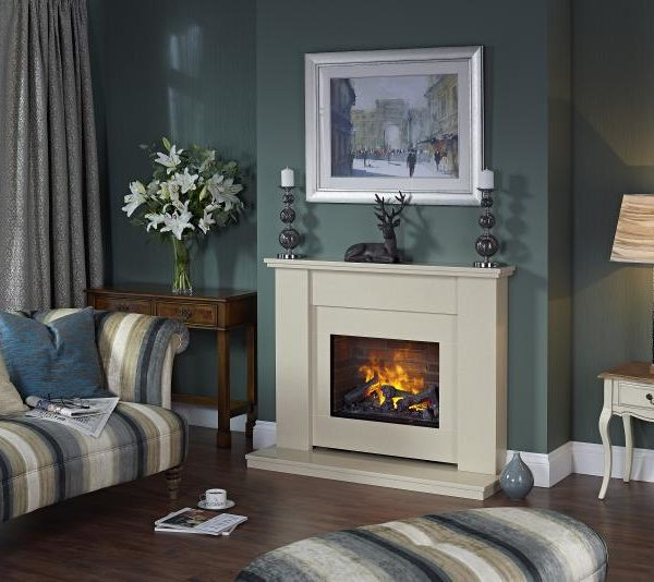 Dimplex Mustique Indulgence Suite with Opti-myst Electic Fire