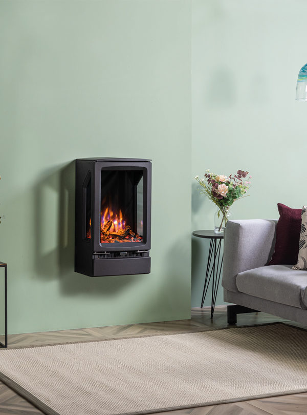 Stovax & Gazco Vogue MidiT Wall Mounted Electric Stove