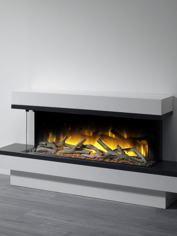 Flamerite Fires Jaeger 1360 Free Standing Electric Suite