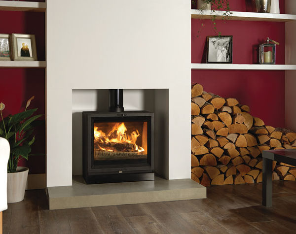 Stovax & Gazco View 5 Wide Wood Burning & Multi-fuel Stove