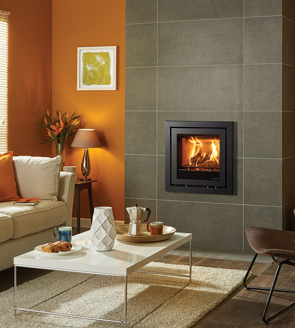 Stovax & Gazco Elise Profil Wood Burning & Multi-fuel Inset Fire