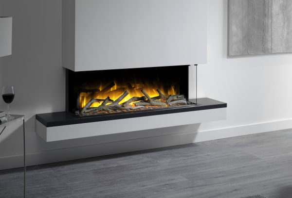 Flamerite Fires Exo 1000 Wall Mounted Electric Suite