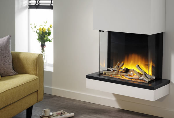 Flamerite Fires Exo 600 Wall Mounted Electric Suite