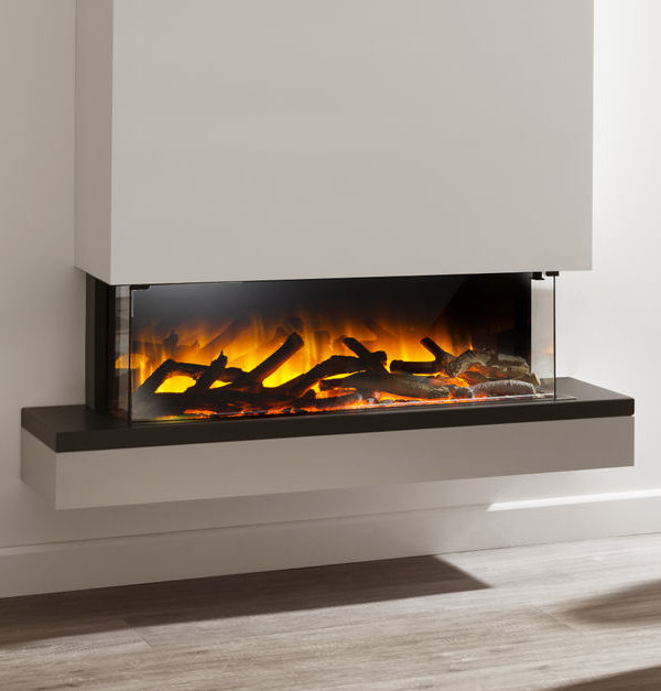 Flamerite Fires Exo 900 Wall Mounted Electric Suite