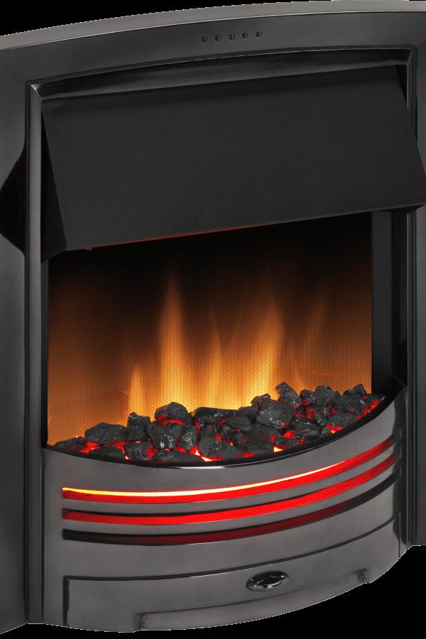 Dimplex Adagio Black Nickel Optiflame Electric Inset Fire