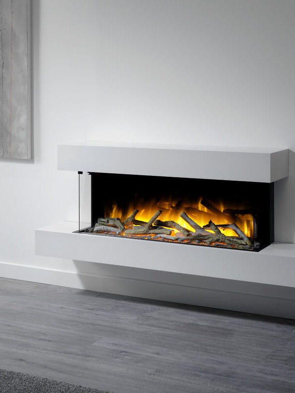 Flamerite Fires Iona 1000 Wall Mounted Electric Suite