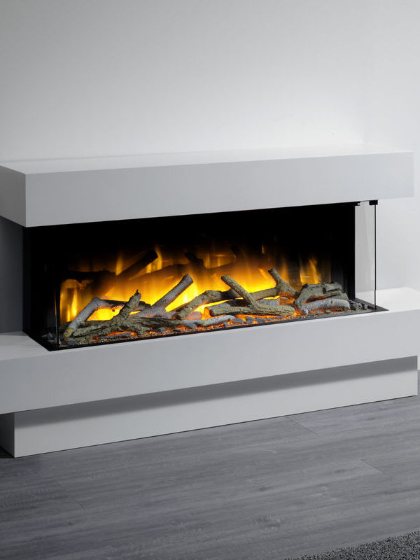 Flamerite Fires Iona 1000 Free Standing Electric Suite