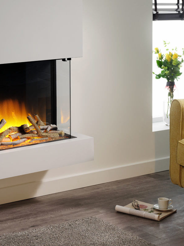 Flamerite Fires Iona 600 Wall Mounted Electric Suite