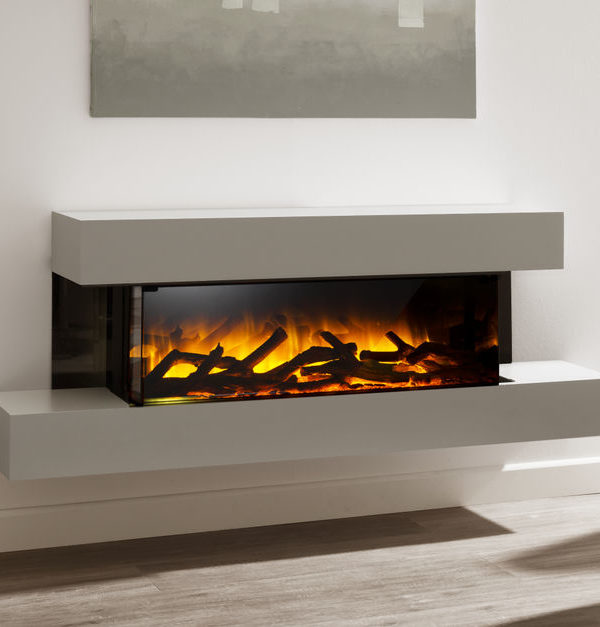 Flamerite Fires Iona 900 Wall Mounted Electric Suite