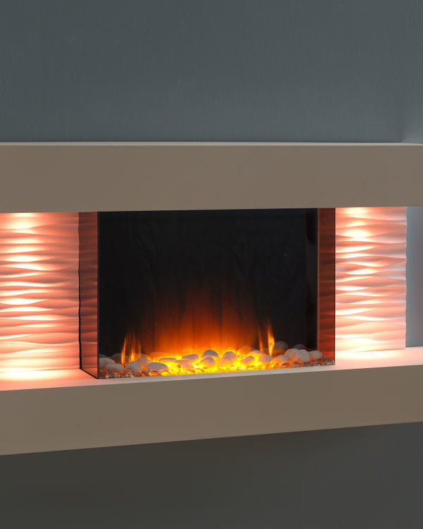 Flamerite Fires Luma 1200 Wall Mounted Electric Suite