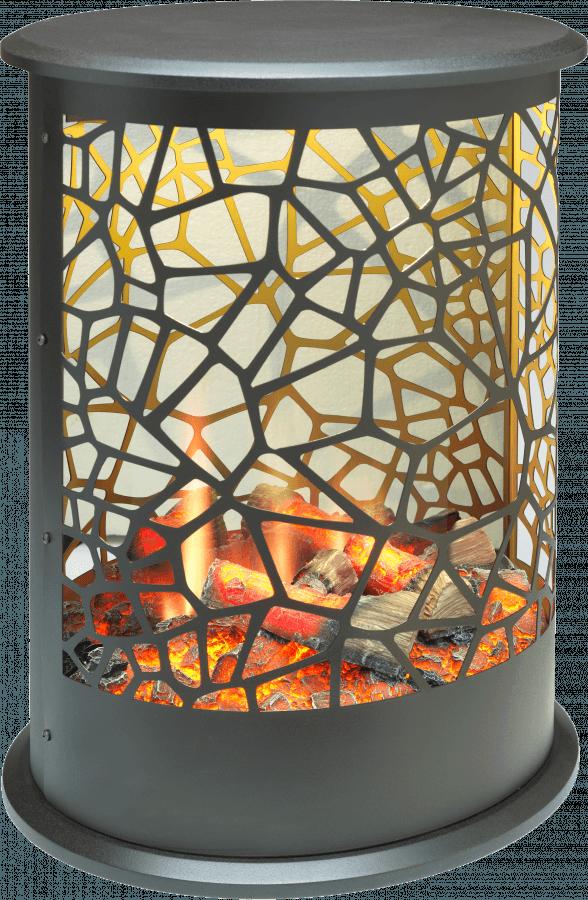 Dimplex Cellini Opti-V Freestanding Electric Fire