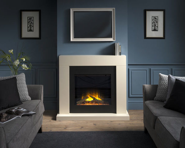 Flamerite Fires Payton Free Standing Electric Suite