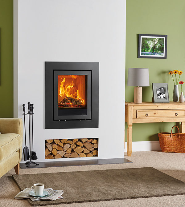 Stovax & Gazco Elise Expression Wood Burning & Multi-fuel Inset Fire