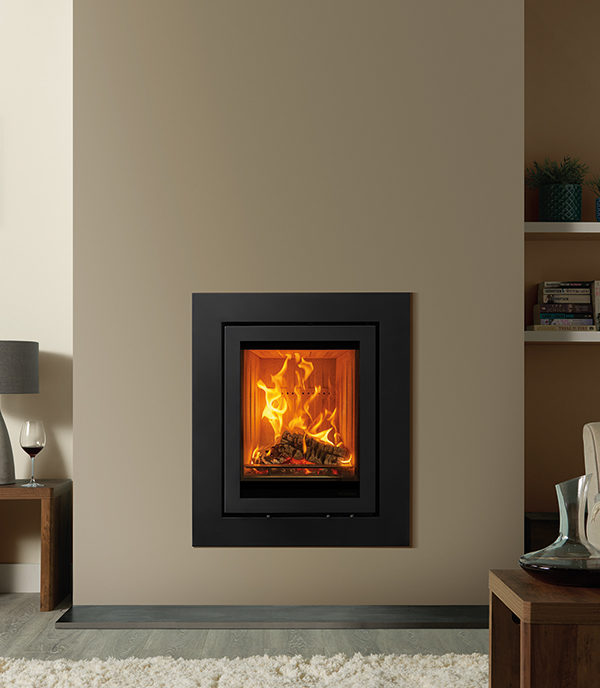 Stovax & Gazco Elise Expression Wood Burning & Multi-fuel Inset Fire