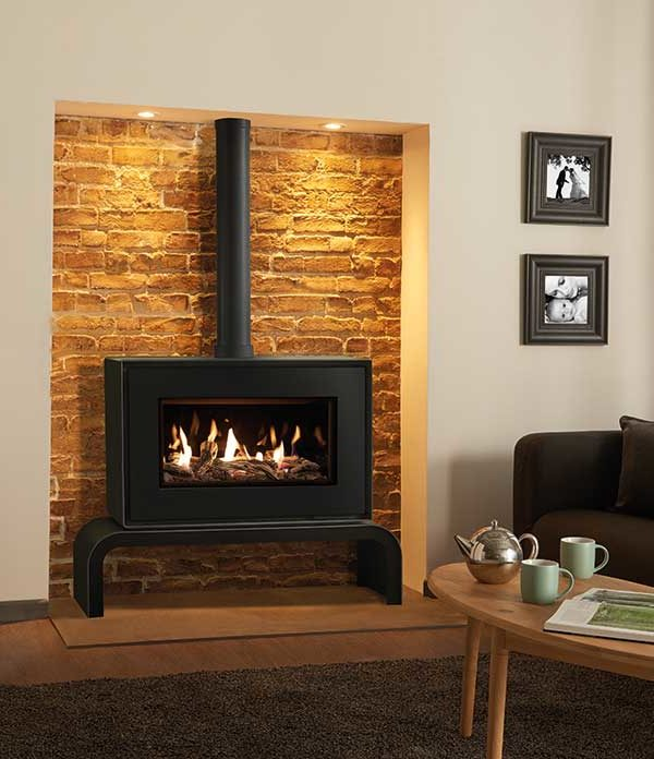 Stovax & Gazco Studio 1 Freestanding Gas Fire