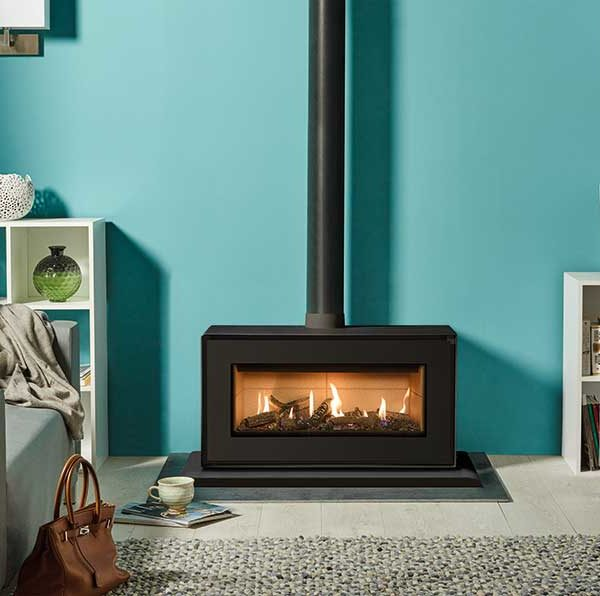 Stovax & Gazco Studio 2 Freestanding Gas Fire