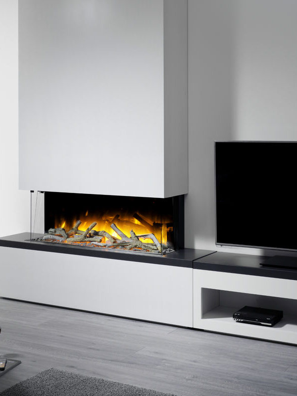 Flamerite Fires Tropo 1000 Free Standing Electric Suite