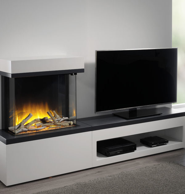 Flamerite Fires Tropo 600 Free Standing Electric Suite