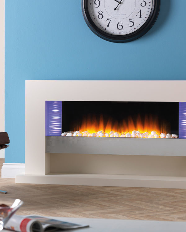Flamerite Fires Vega 1520 Free Standing Electric Suite