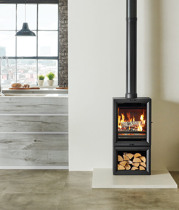 Stovax & Gazco View 5T Midline Wood Burning & Multi-fuel Stove