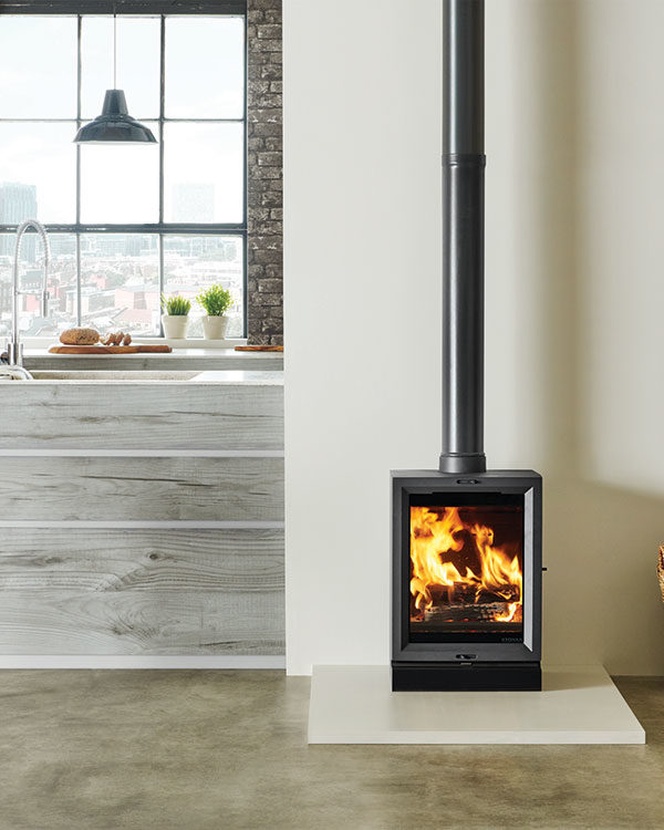 Stovax & Gazco View 5T Wood Burning & Multi-fuel Stove