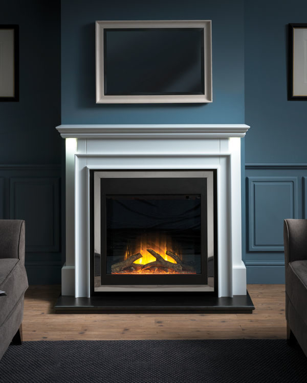 Flamerite Fires Aubade Free Standing Electric Suite