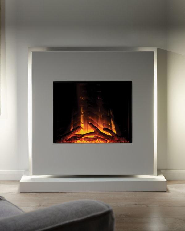 Flamerite Fires Elara Free Standing Electric Suite