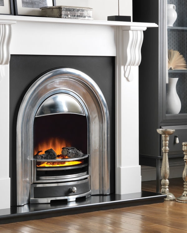Flamerite Fires Corbel Free Standing Electric Suite
