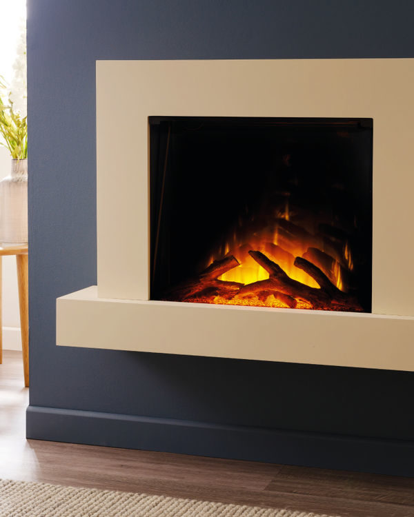 Flamerite Fires Jaeger 600 Wall Mounted Electric Suite