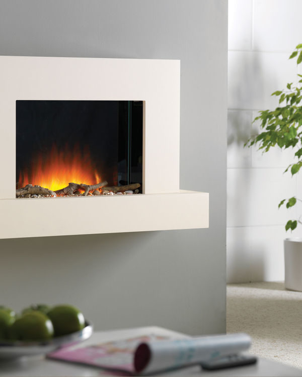 Flamerite Fires Jaeger 1020 Wall Mounted Electric Suite