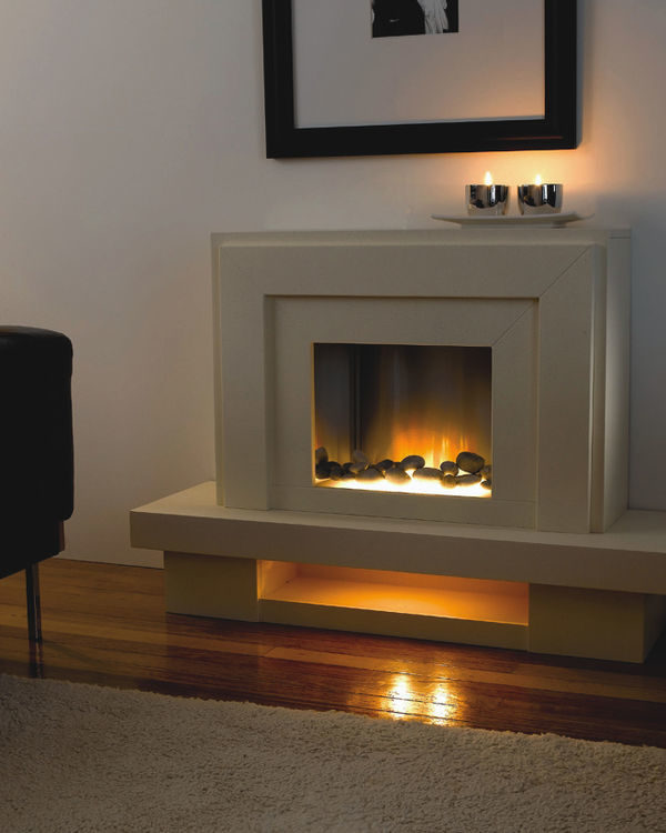 Flamerite Fires Lazio Free Standing Electric Suite
