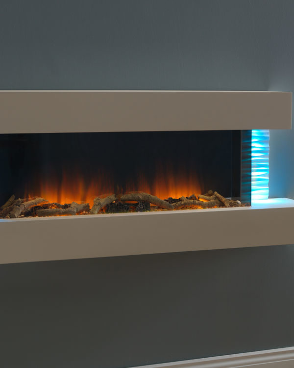 Flamerite Fires Luma 1360 Wall Mounted Electric Suite