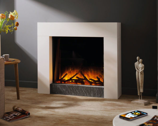 Flamerite Fires Magellan Free Standing Electric Suite