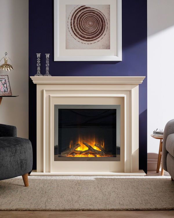 Flamerite Fires Princeton Free Standing Electric Suite