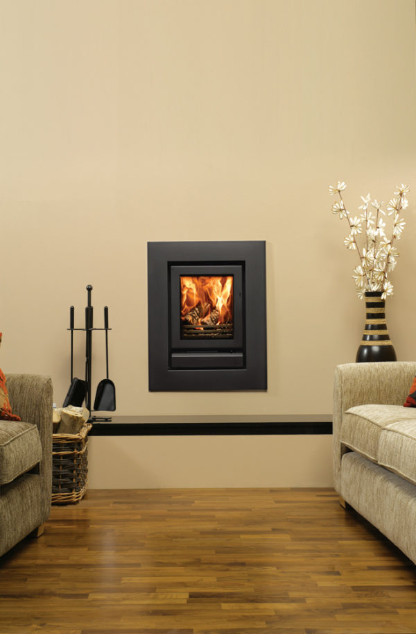 Stovax & Gazco Riva 40 Wood Burning & Multi-fuel Inset Fire