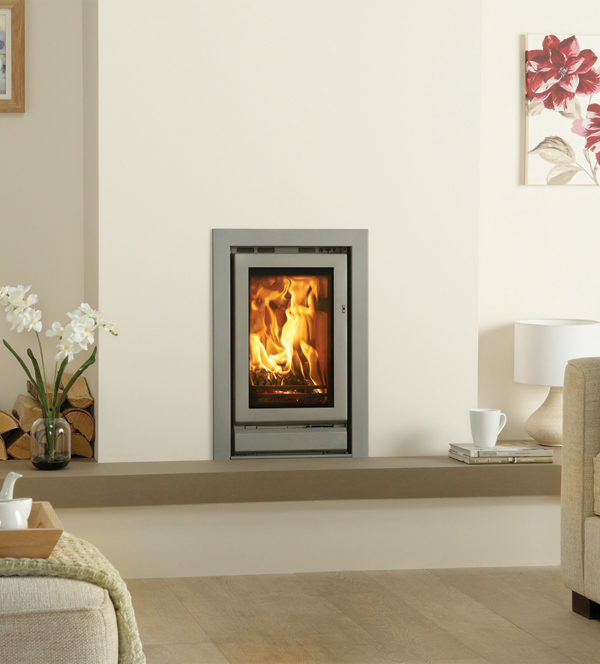 Stovax & Gazco Riva 45 Wood Burning & Multi-fuel Inset Fire