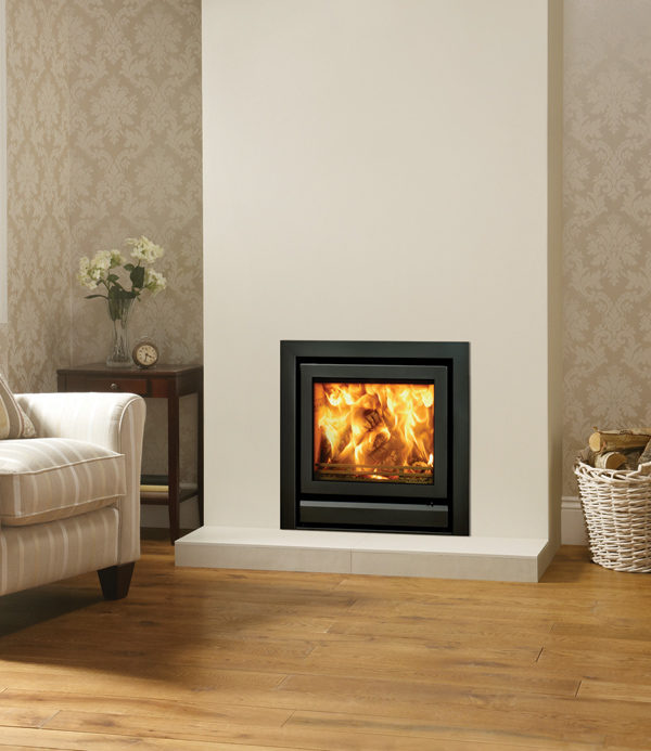 Stovax & Gazco Riva 50 Wood Burning & Multi-fuel Inset Fire