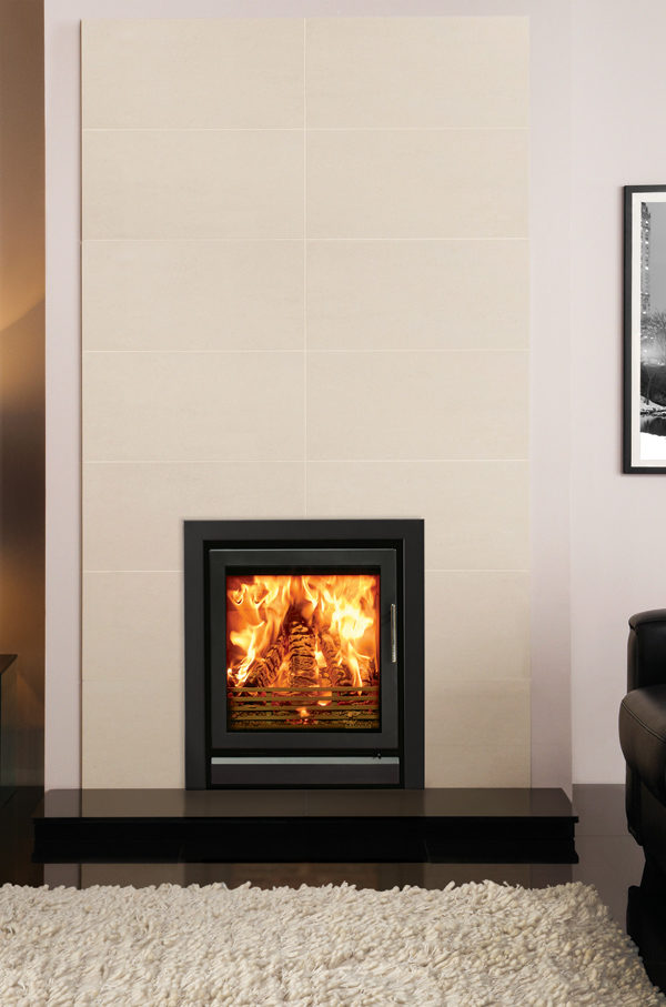 Stovax & Gazco Riva 55 Wood Burning & Multi-fuel Inset Fire