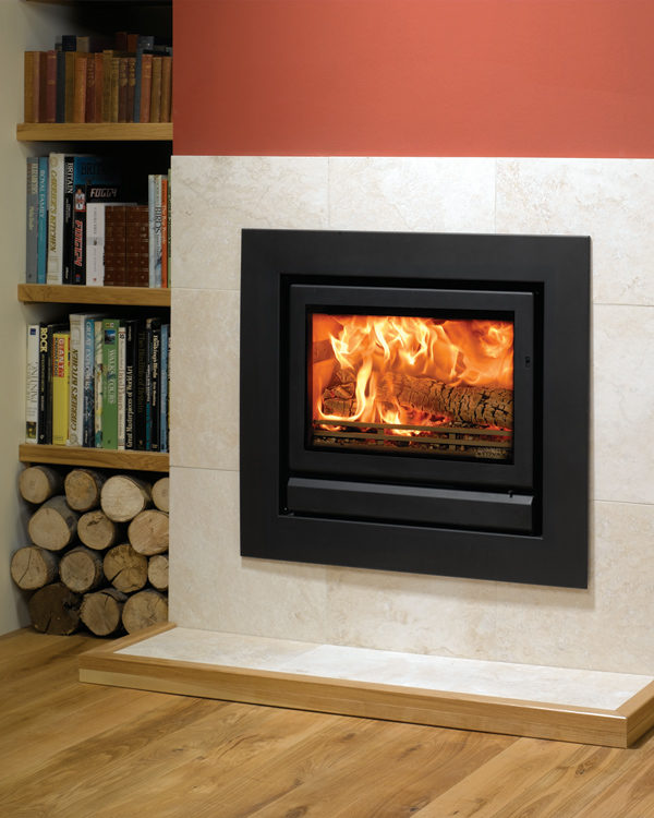Stovax & Gazco Riva 66 Wood Burning & Multi-fuel Inset Fire