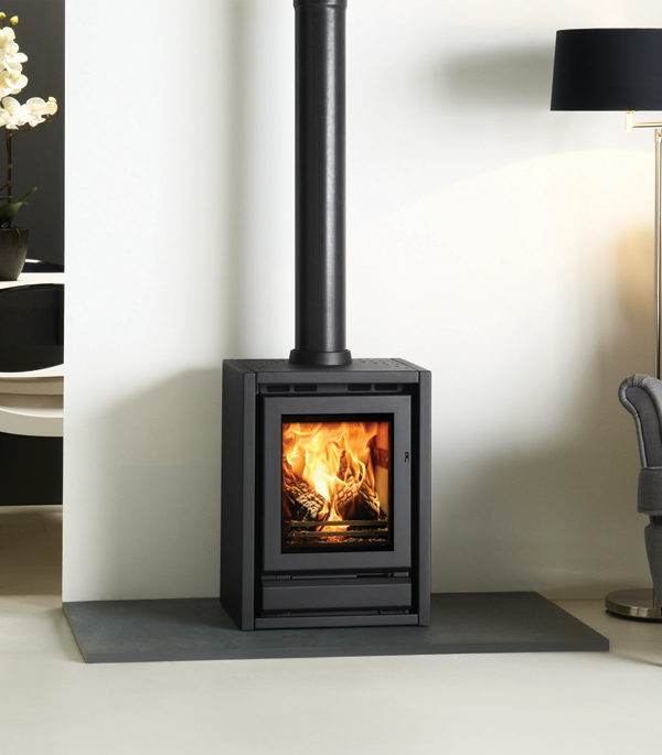 Stovax & Gazco Riva F40 Freestanding Wood Burning & Multi-fuel Stove