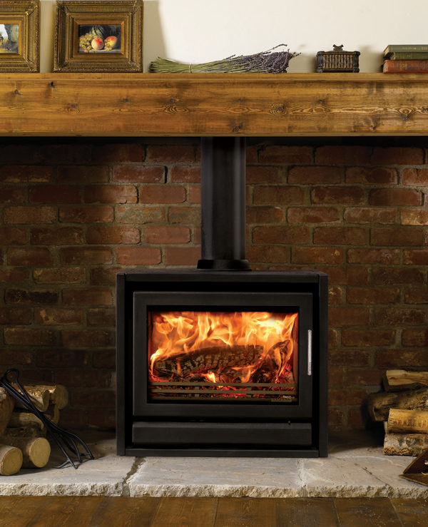 Stovax & Gazco Riva F66 Freestanding Wood Burning & Multi-fuel Stove