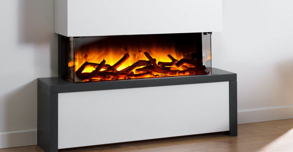 Flamerite Fires Strato 900 Free Standing Electric Suite