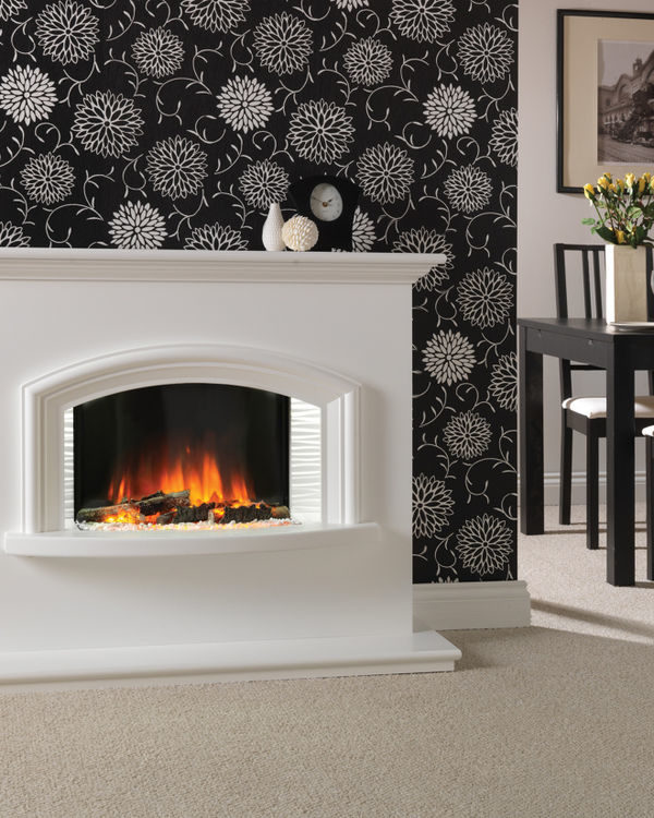 Flamerite Fires Valentino Free Standing Electric Suite