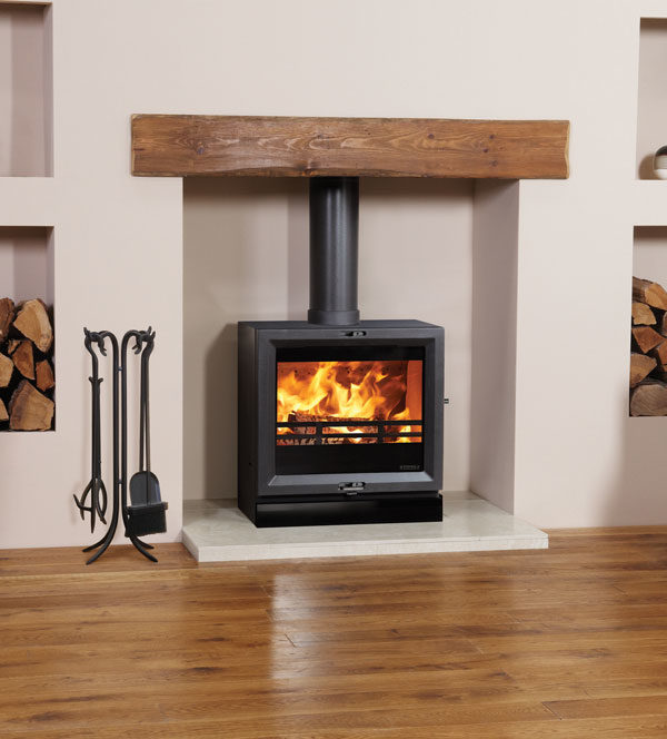 Stovax & Gazco View 8 Wood Burning & Multi-fuel Stove