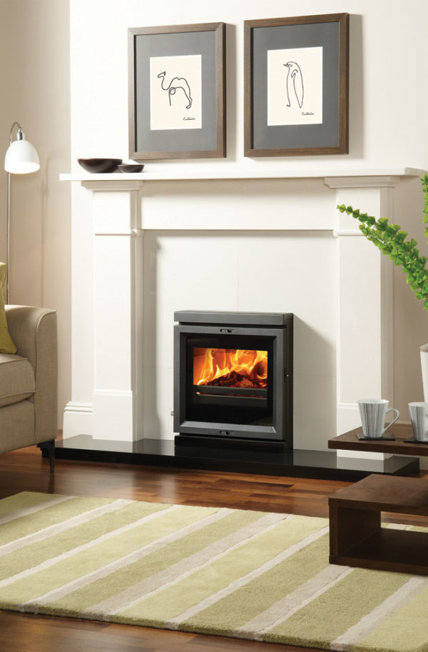 Stovax & Gazco View 7 Wood Burning & Multi-fuel Inset Convector Stove