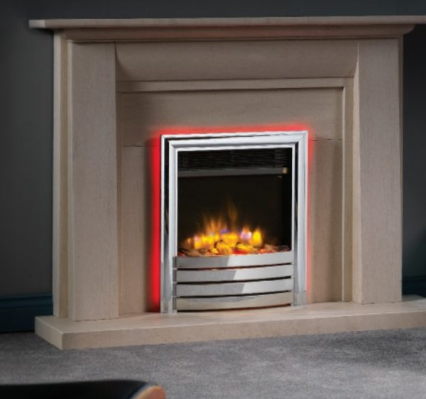 4D Ecoflame 16″ Inset Electric Fire Range