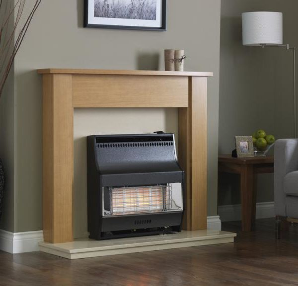 Valor Firelite Radiant Electronic Gas Fire