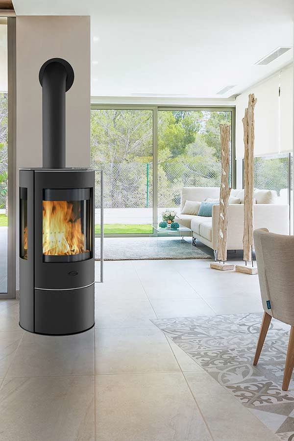 The Penman Collection Aurus Wood Burning Stove
