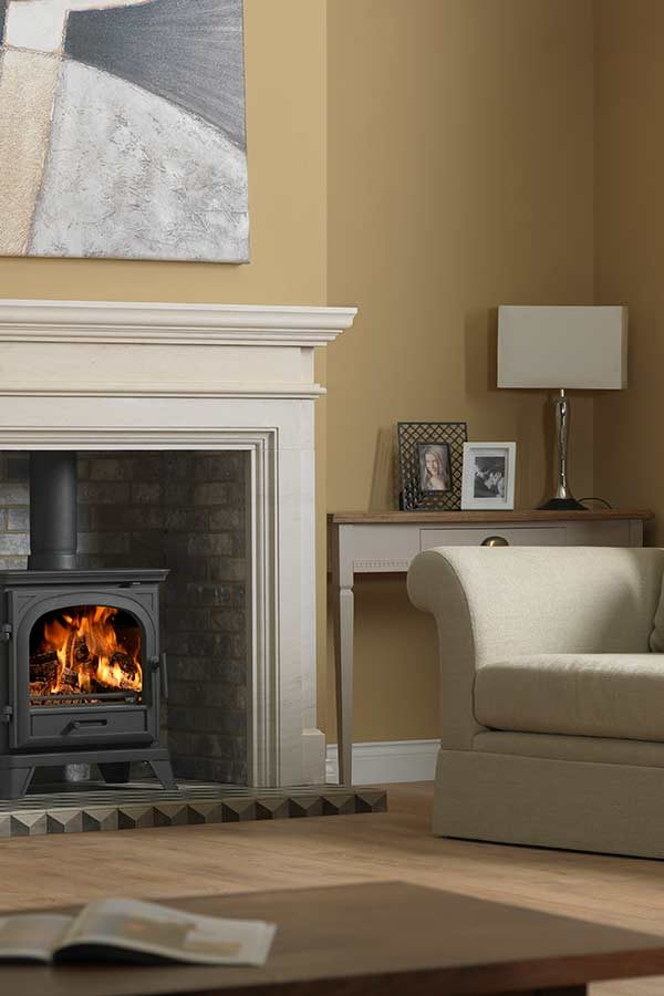 The Penman Collection Avebury Wood Burning Stove