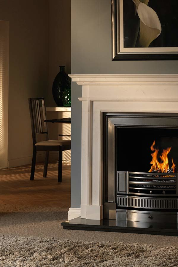 The Penman Collection Agean Limestone Aversa Mantel